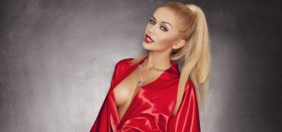 Kamila Maćkowiak - polska, seksowna modelka w kolekcji polskiej marki bielizny Dkaren