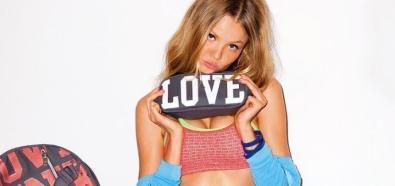 Magdalena Frąckowiak twarzą najnowszej kolekcji różowej bielizny Victoria's Secret