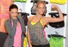 Adriana Lima i Erin Heatherton - seksowne modelki promują sportową kolekcję VSX Victoria's Secret w Nowym Jorku
