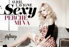 Avril Lavigne w sesji zdjęciowej w lutowym wydaniu magazynu Vanity Fair