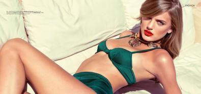 Bregje Heinen - holenderska, seksowna modelka w GQ