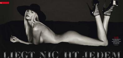 Erin Heatherton - seksowna modelka topless w GQ