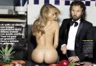 Jessica Dykstra i Kristy Goretskaya - modelki pozują nago dla włoskiego GQ