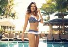 Kelly Brook - ponętne kształty modelki w kolekcji bikini