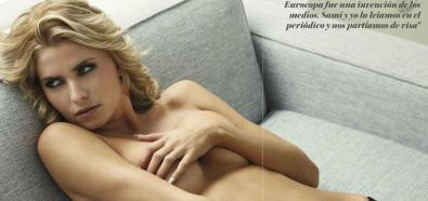 Lena Gercke - modelka z niemieckiego Top Model kusi w GQ
