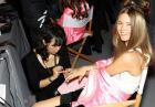 Candice Swanepoel, Erin Heatherton, Miranda Kerr, Adriana Lima, Alessandra Ambrosio, Lily Aldridge, Lindsay Ellingson za kulisami pokazu Victoria's Secret Fashion Show 2012