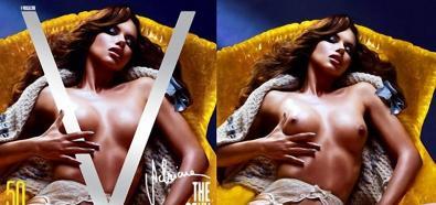 Adriana Lima i inne modelki topless w hiszpańskim V
