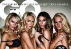Candice Swanepoel, Erin Heatherton, Lily Aldridge i Lindsay Ellingson w styczniowym GQ
