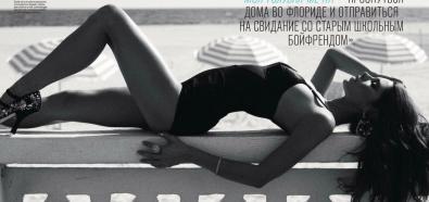 Ashley Greene - sesja seksownej aktorki w rosyjskim GQ