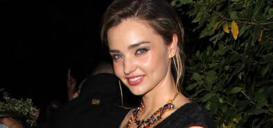 Miranda Kerr - partnerka Orlando Blooma i były Aniołek Victoria's Secret w Paryżu
