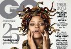 Rihanna w GQ nago z wężem