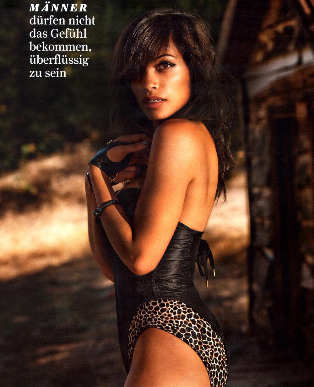 Nacktfotos von Rosario Dawson im Internet - Mediamass