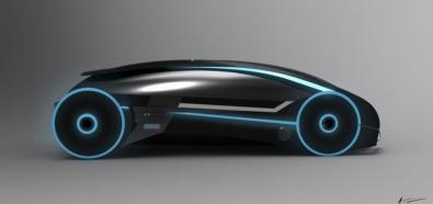 Tron Car - niezwykły samchód koncepcyjny