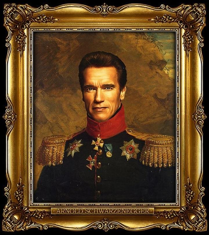 Tom Cruise, Daniel Craig, Bruce Willis i inni celebryci w rosyjskich mundurach