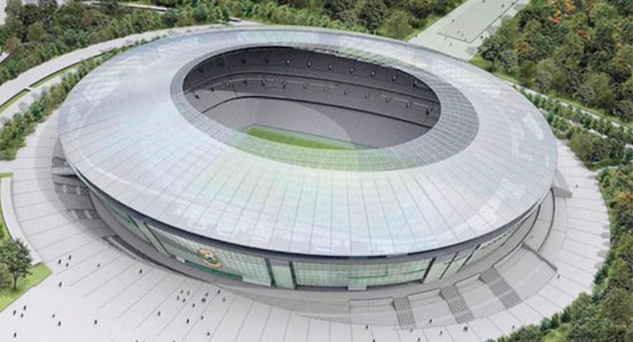 Stadion Szachtar w Doniecku