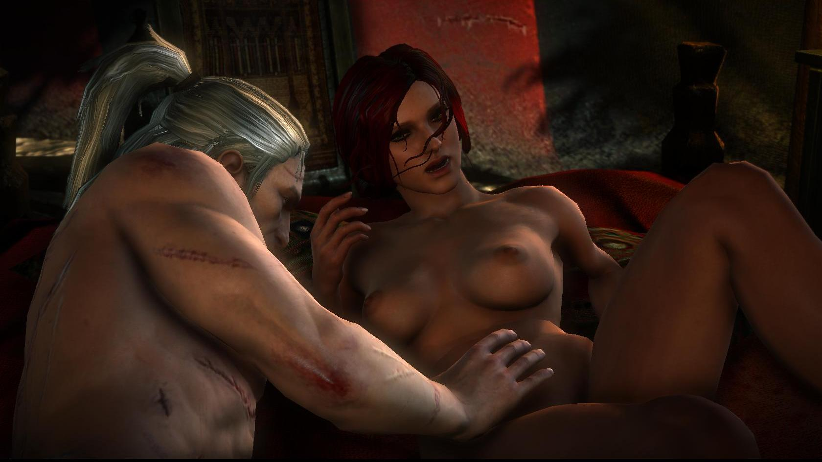 Witcher game girls nude fucking fucked movie