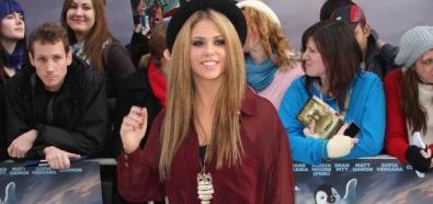 Bianca Gascoigne - modelka i osobowość telewizyjna na premierze filmu Happy Feet 2