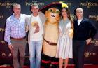 """Antonio Banderas i Salma Hayek na premierze filmu """"Kot w butach"""" w Sydney"""