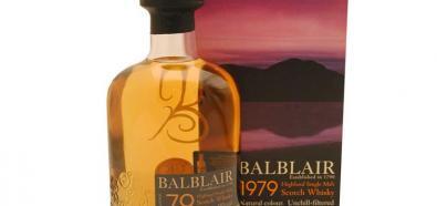 Single Malt Whisky Balblair rocznik 79