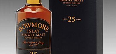 Wyjątkowa 25-letnia whisky Bowmore