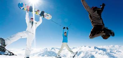 Trening przed sezonem narciarskim