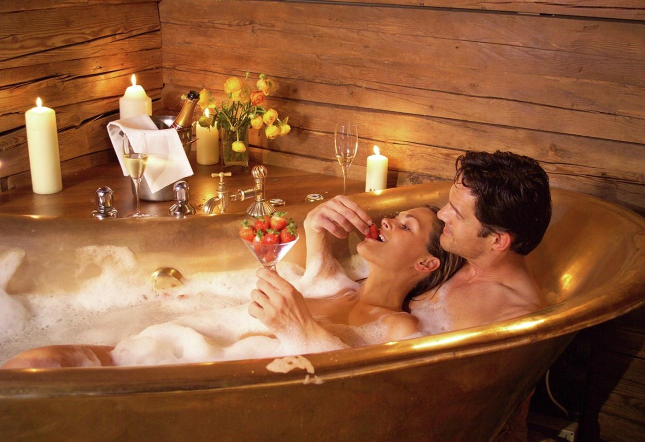 Секс ванной романтика 6 фотография