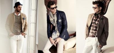 Moda męska i porady - białe spodnie na sezon wiosna/lato