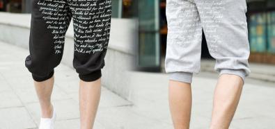 Dresowe spodenki - bardzo wygodna moda