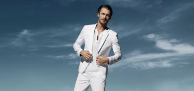 Moda męska - wykorzystaj biel tego lata