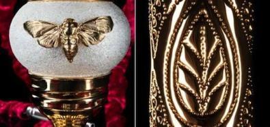 Luksusowa szisza ze złota, srebra oraz kamieni szlachetnych od Aurentum Switzerland