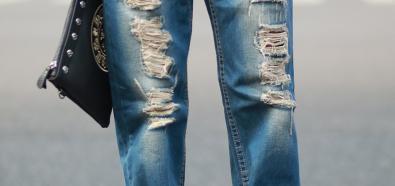 Spodnie z dziurami - męski hit sezonu