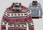 Sweter w hołdzie świątecznej atmosferze