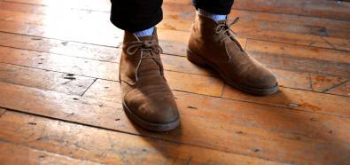 Buty zamszowe to dobry wybór na jesień