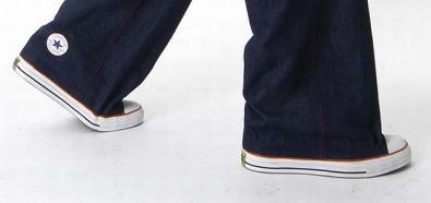 Spodnie i trampki 2 w 1 od Sebastiana Errazuriza