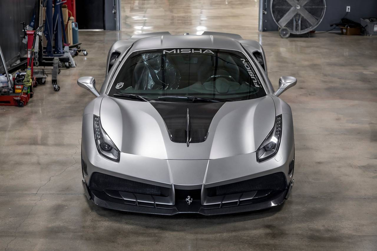 Ferrari 488 Misha Design