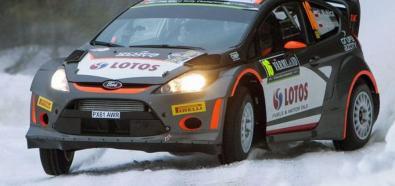 WRC: Kubica dwudziesty w Rajdzie Szwecji