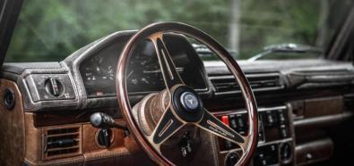Mercedes G w stylu Vintage