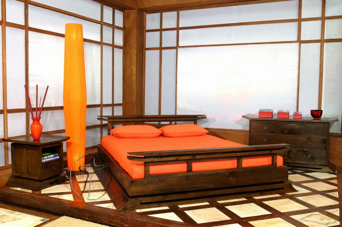 Zdj cie jak urzadzic sypialnie 09 - Oriental style bedroom furniture ...