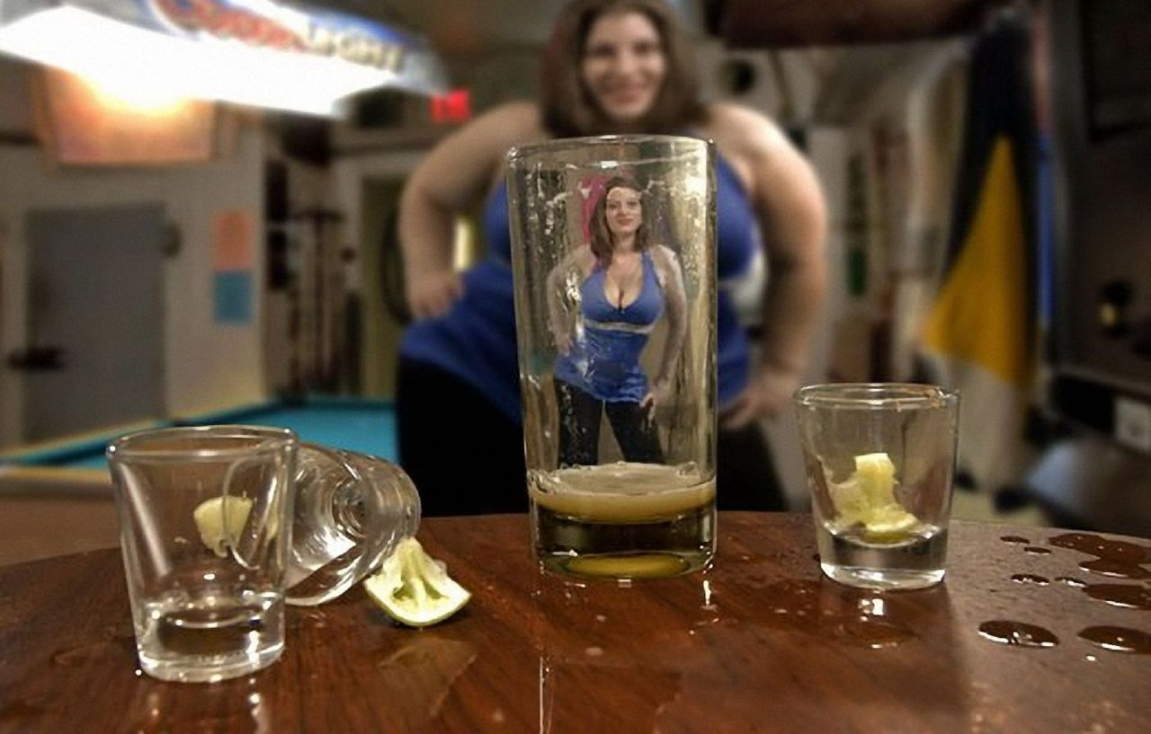Что делает водка с людьми фото