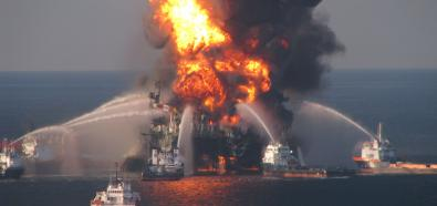Platforma Deepwater Horizon - pożar i katastrofa