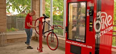 Bike Fixtation - odjechany punkt do naprawiania roweru