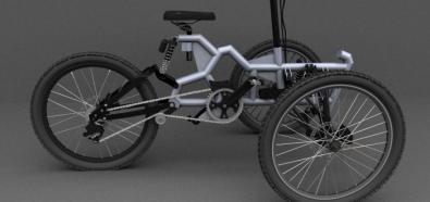 Tricycle Kamikaze - trójkołowy rower bez silnika elektrycznego