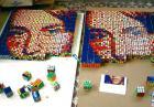 Obrazy z kostek Rubika