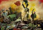 Reprodukcje obrazów wykonane z warzyw