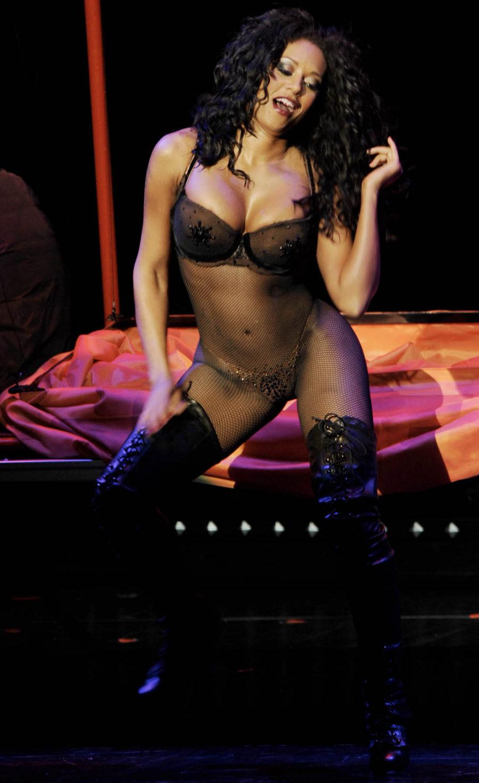 live nude peep show girl