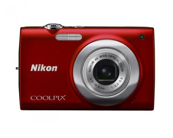 Nikon Coolpix S2500 Czerwony Karta Sd 8gb Sandisk Fotografia