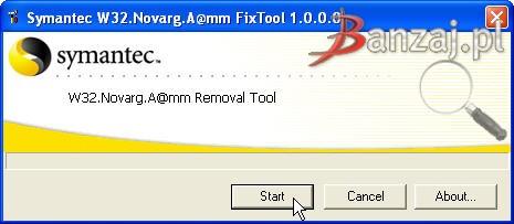 Symatec W32.Blaster Worm Fix Tool