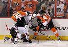 NHL: Bójka bramkarzy