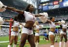 Cheerleaderki podczas pierwszej kolejki NFL