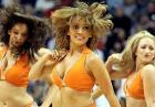 NBA. Cheerleaderki Phoenix Suns - dziewczyny z US Airways Center